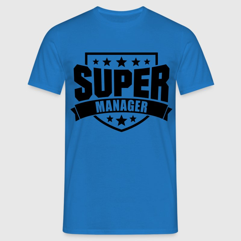 Super Manager T-Shirts - Männer T-Shirt