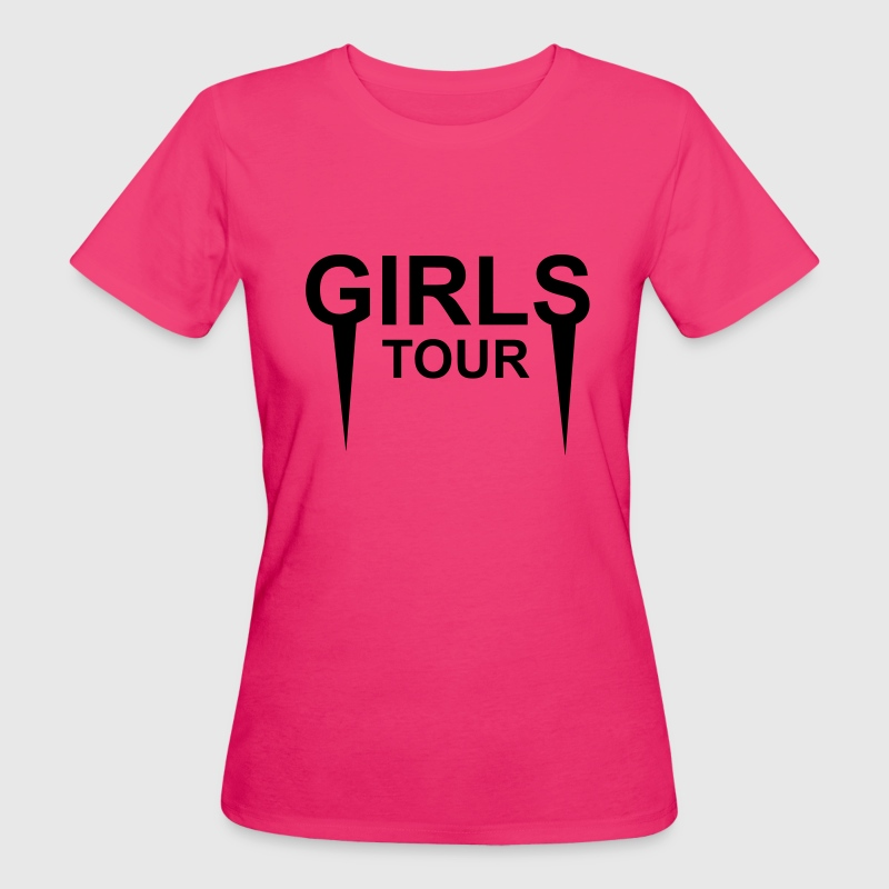 Girls tour T-Shirts - Women's Organic T-shirt