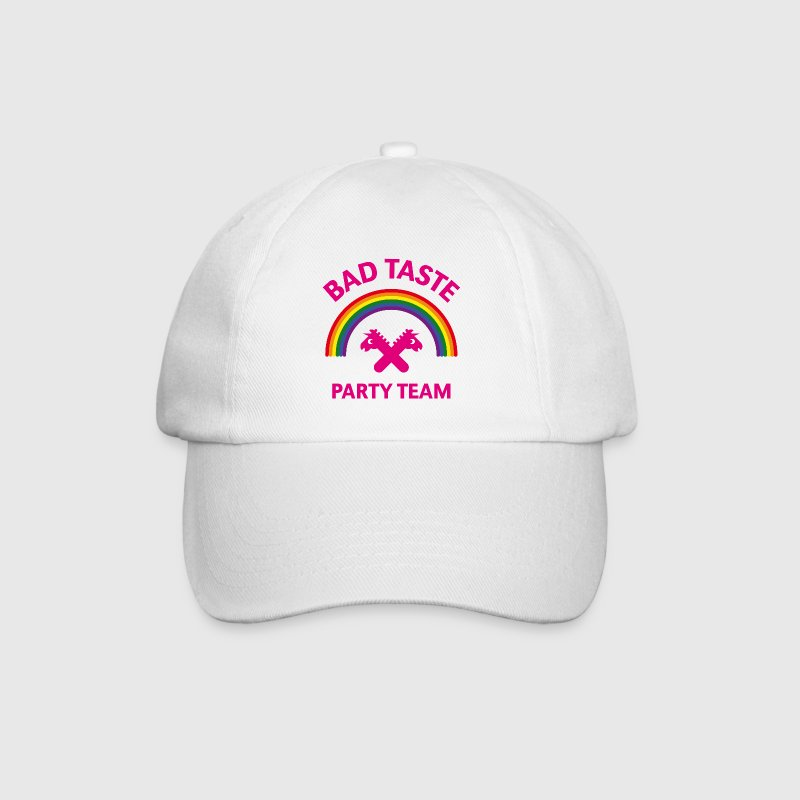 Bad Taste Party Team (Unicorn / Rainbow) Caps & Hats - Baseball Cap