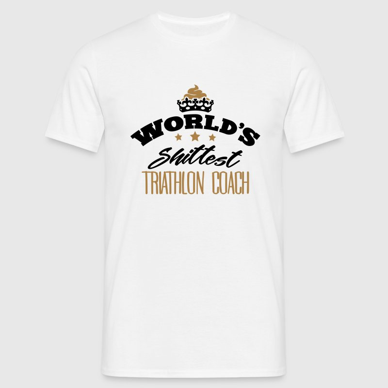 worlds shittest triathlon coach - Men's T-Shirt
