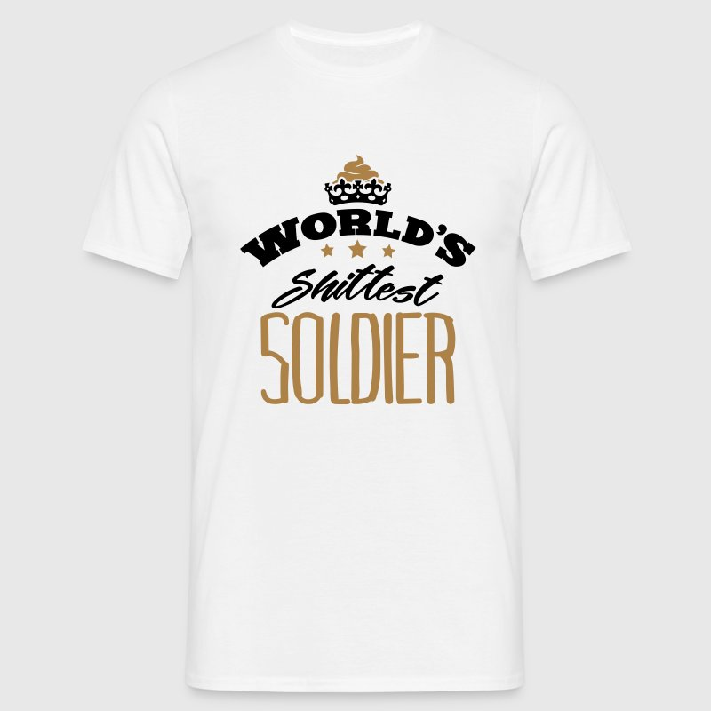worlds shittest soldier - Men's T-Shirt