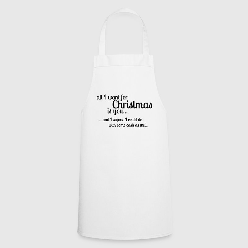 Christmas Song Joke  Aprons - Cooking Apron