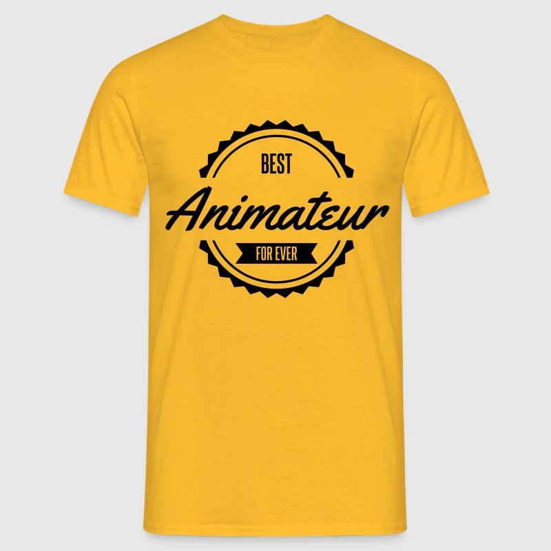 best animateur Tee shirts - T-shirt Homme