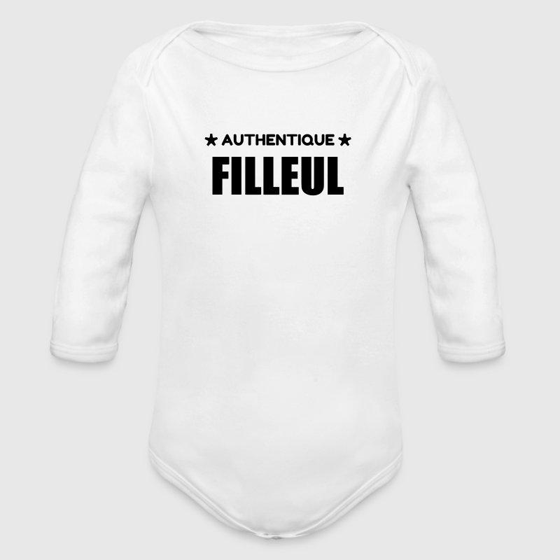 Bien-aimé Body Bébé Filleul / Filleule / Parrain / Marraine / Bébé | Spreadshirt IZ79
