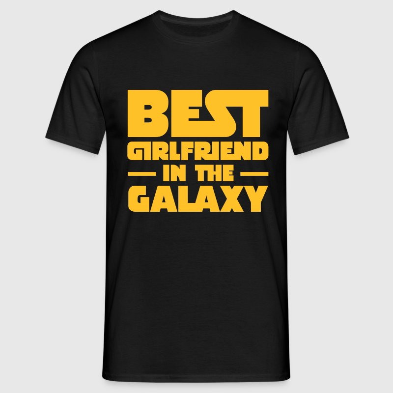 Best Girlfriend In The Galaxy T-shirts - Mannen T-shirt