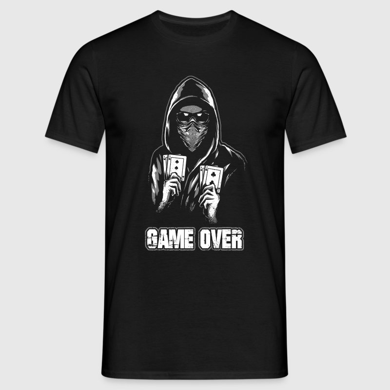 ACAB - GAME OVER T-Shirts - Men's T-Shirt