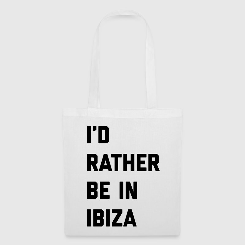 Be In Ibiza Music Quote Bags & Backpacks - Tote Bag