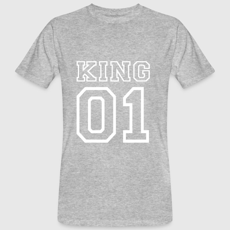 KING No. 1 T-Shirts - Männer Bio-T-Shirt