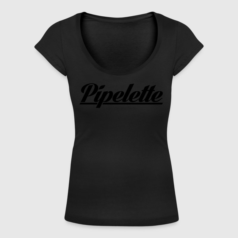 Pipelette Tee shirts - T-shirt col rond U Femme