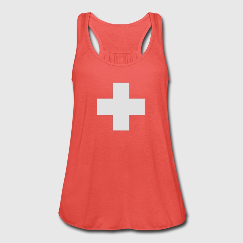 Swiss cross - Women's Tank Top by Bella