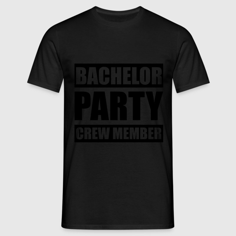 Bachelor party crew member Junggesellenabschied - Men's T-Shirt