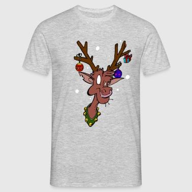 tee shirts renne noel commander en ligne spreadshirt. Black Bedroom Furniture Sets. Home Design Ideas