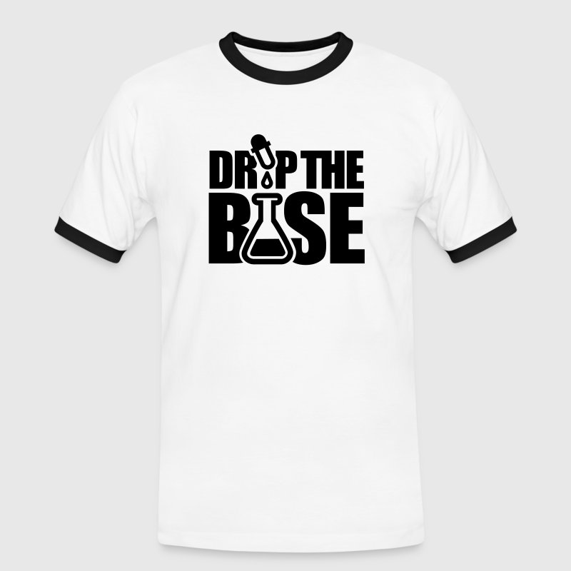Drop the base T-Shirts - Männer Kontrast-T-Shirt
