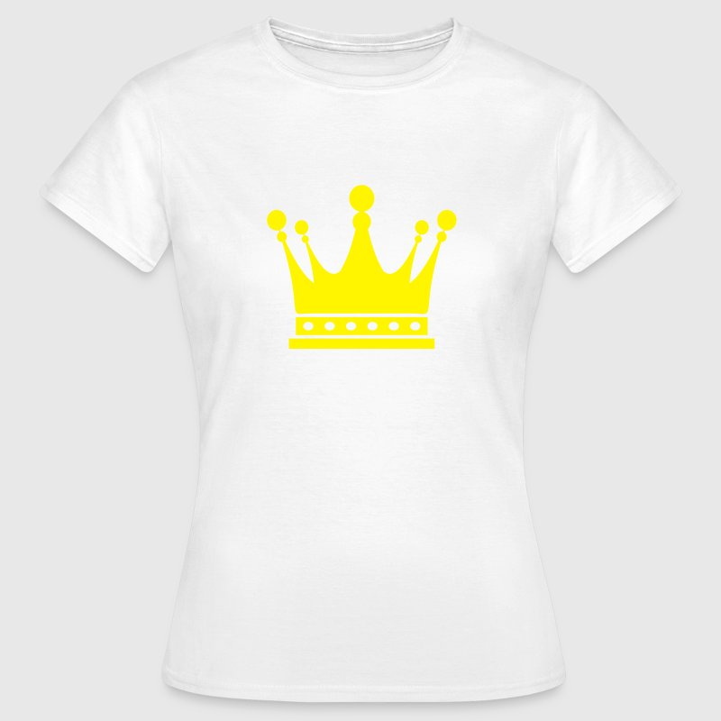 Crown King Krone König Couronne Roi Corona Kroon T-Shirts - Women's T-Shirt
