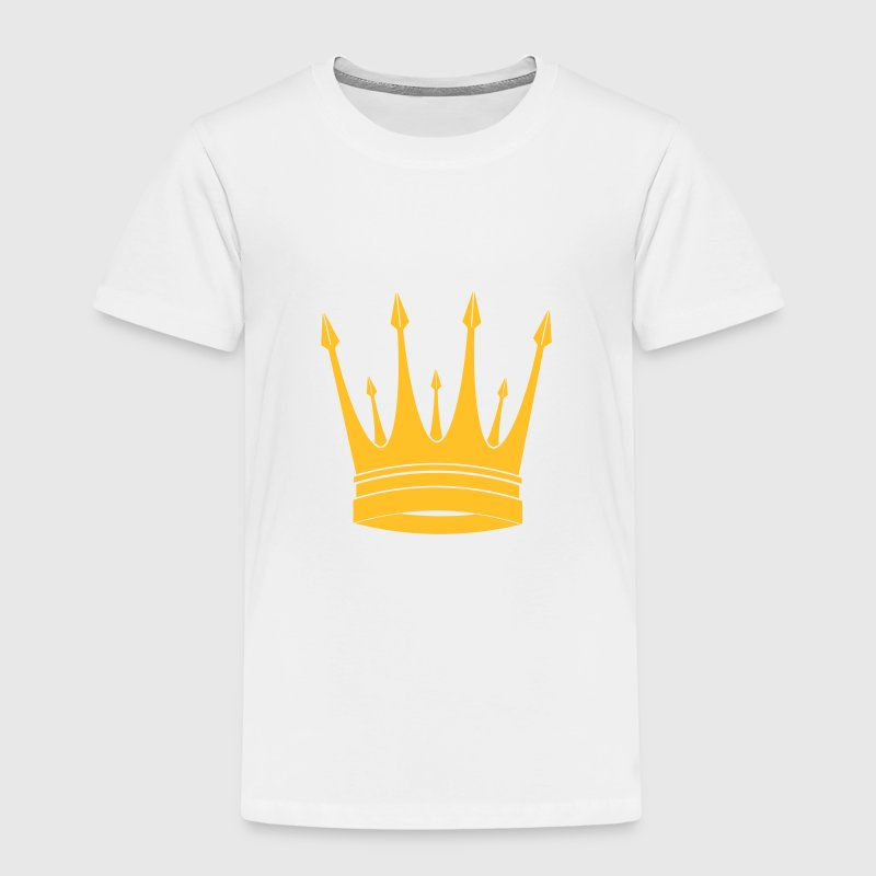 Crown King Krone König Couronne Roi Corona Kroon Shirts - Kids' Premium T-Shirt