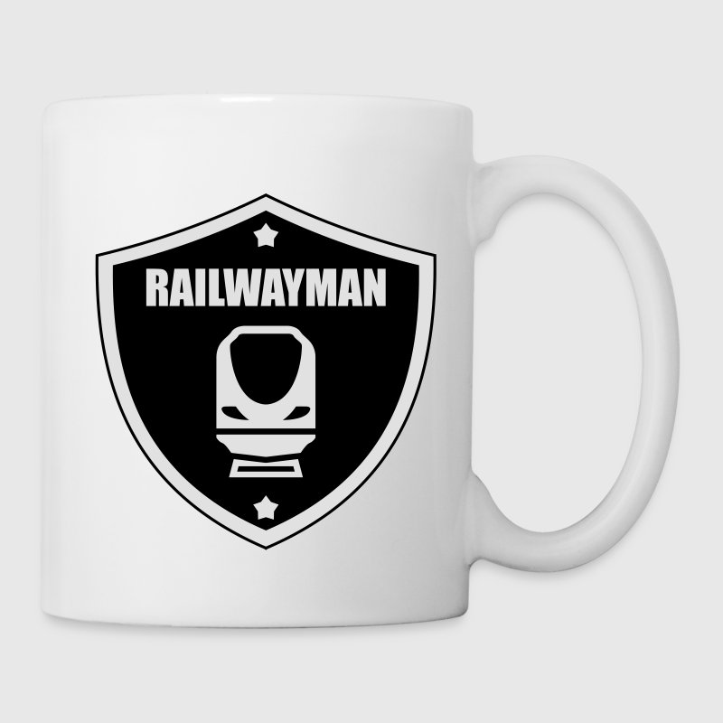 Railway Railwayman Cheminot Train Eisenbahn Mugs & Drinkware - Mug