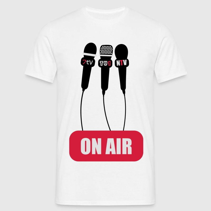 On Air Youtuber Shirt  - Männer T-Shirt