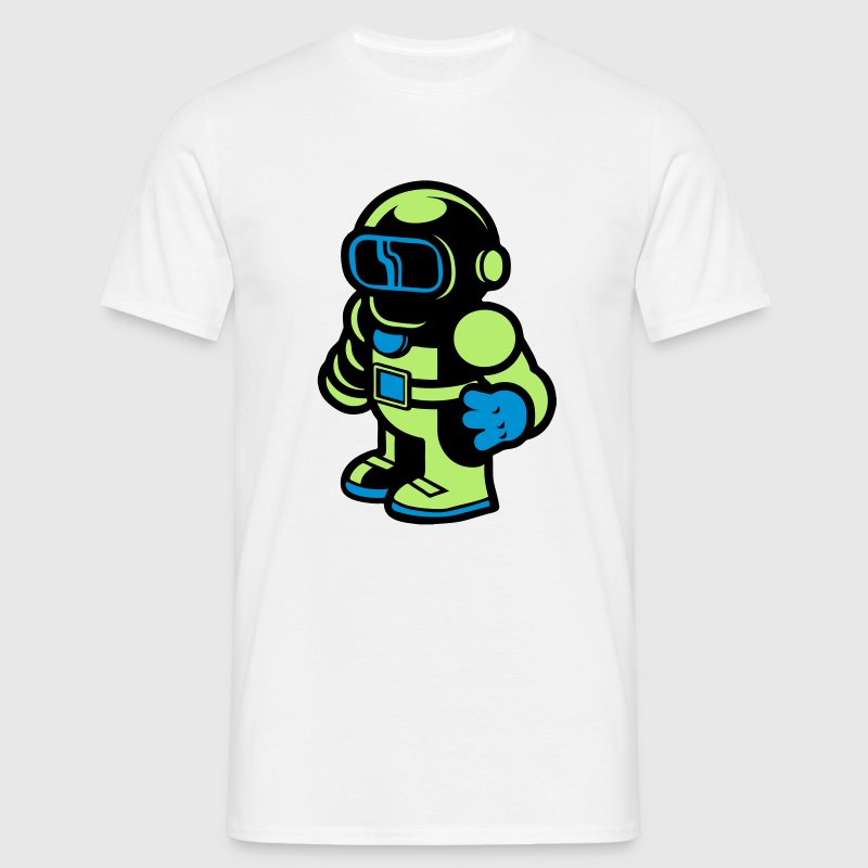 Cartoon Spaceman Astronaut T-Shirts - Men's T-Shirt