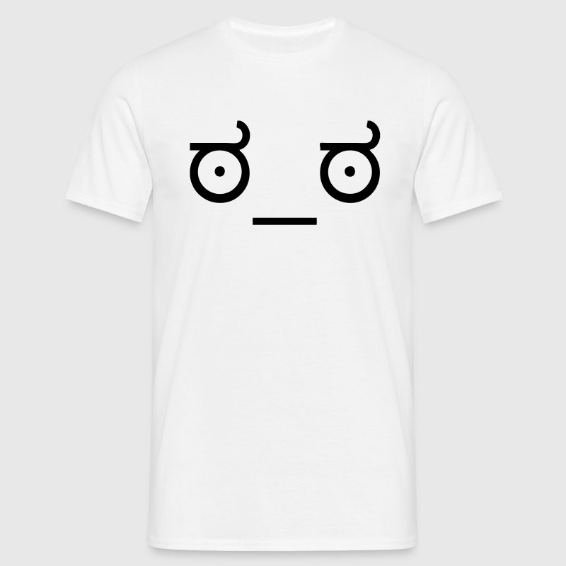 The Look of Disapproval Face ಠ_ಠ Meme T-Shirts - Men's T-Shirt
