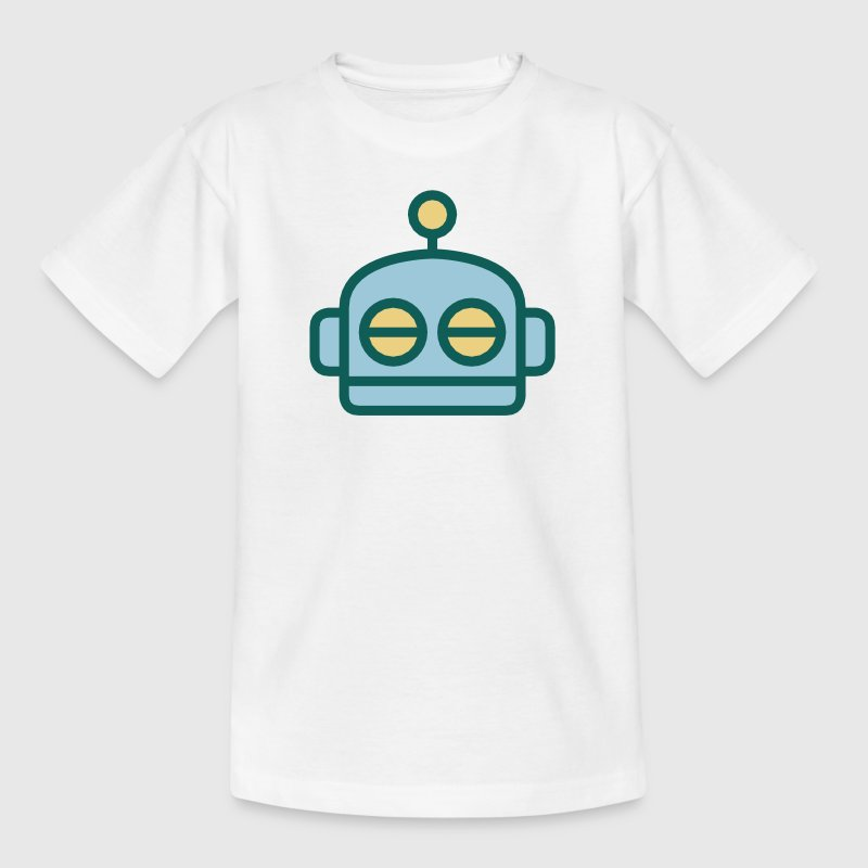 Cartoon Robot Face Shirts - Kids' T-Shirt