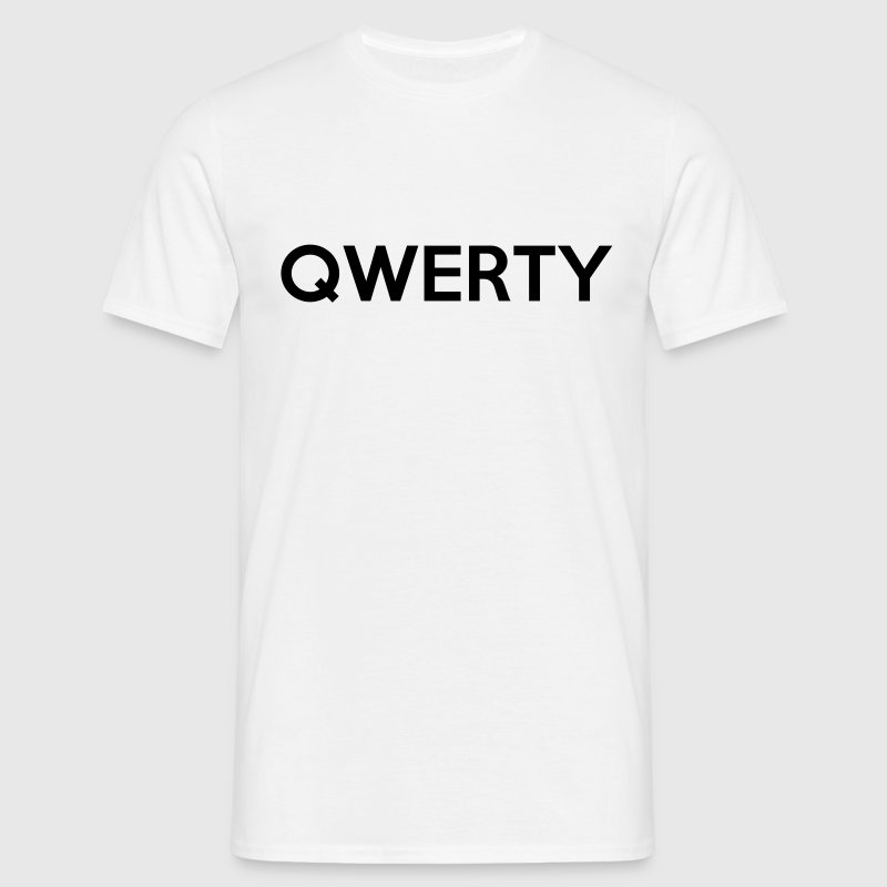 QWERTY Quote T-Shirts - Men's T-Shirt