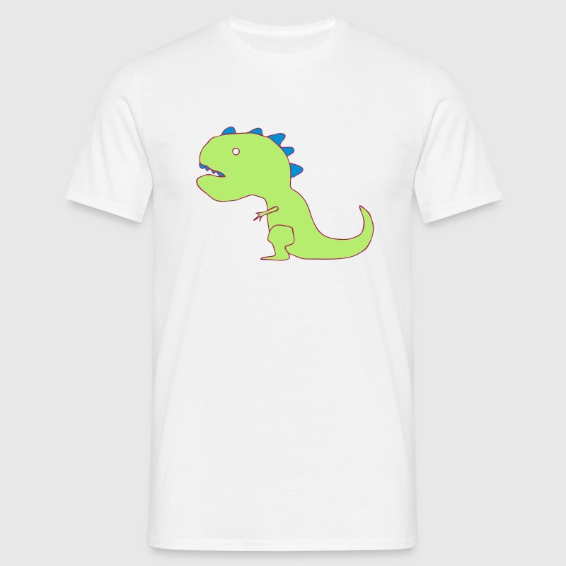 Funny Cartoon T-Rex Drawing T-Shirts - Men's T-Shirt