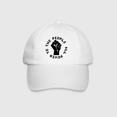 ALL POWER TO THE PEOPLE ROUND Autres - Casquette classique