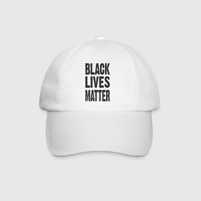 BLACK LIVES MATTER TYPOGRAPHIC Bags & Backpacks - Baseball Cap