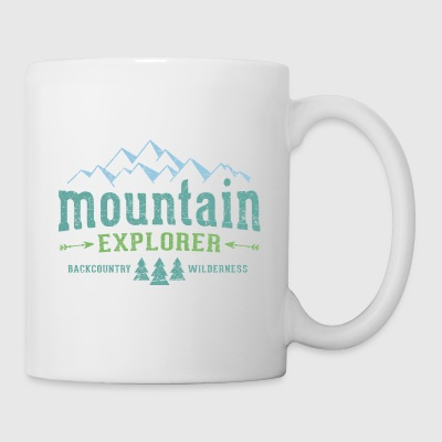Mountain Explorer Jutebeutel - Tasse