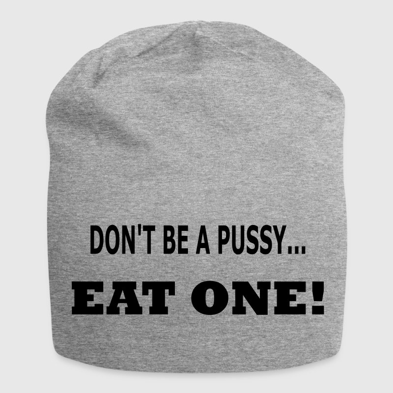 eat a pussy Caps & Hats - Jersey Beanie
