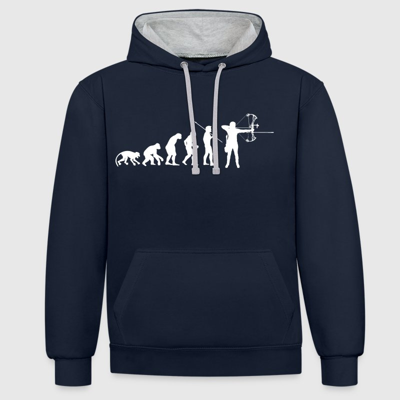 Sweat Capuche Compound - Sweat-shirt contraste
