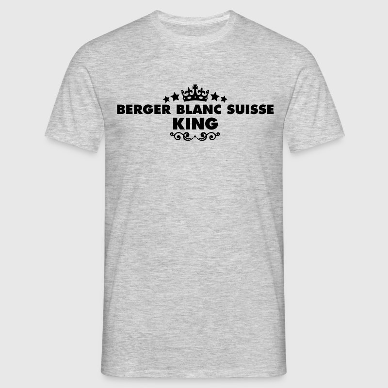 berger blanc suisse king 2015 - Men's T-Shirt