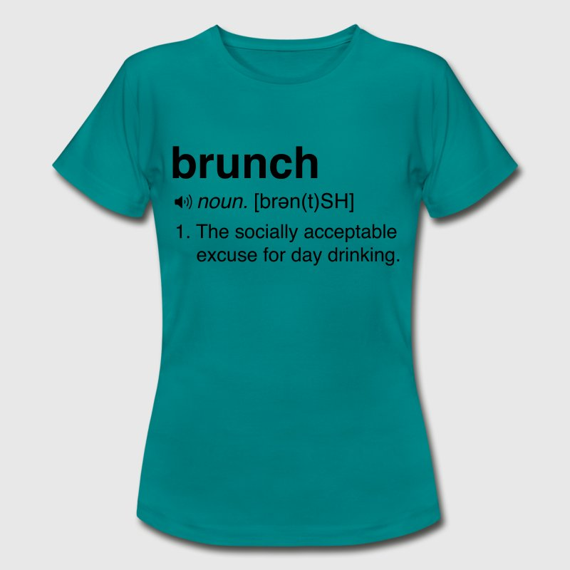 Funny Brunch Definition T-Shirts - Women's T-Shirt