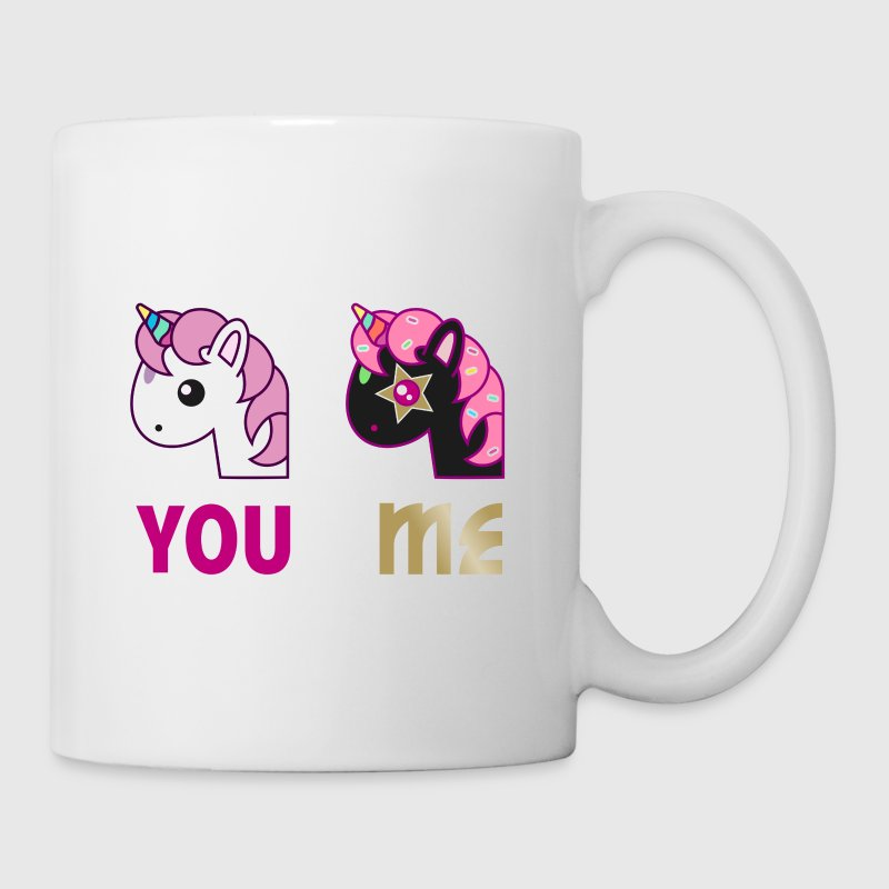 Einhorn Tasse - You Me - Tasse