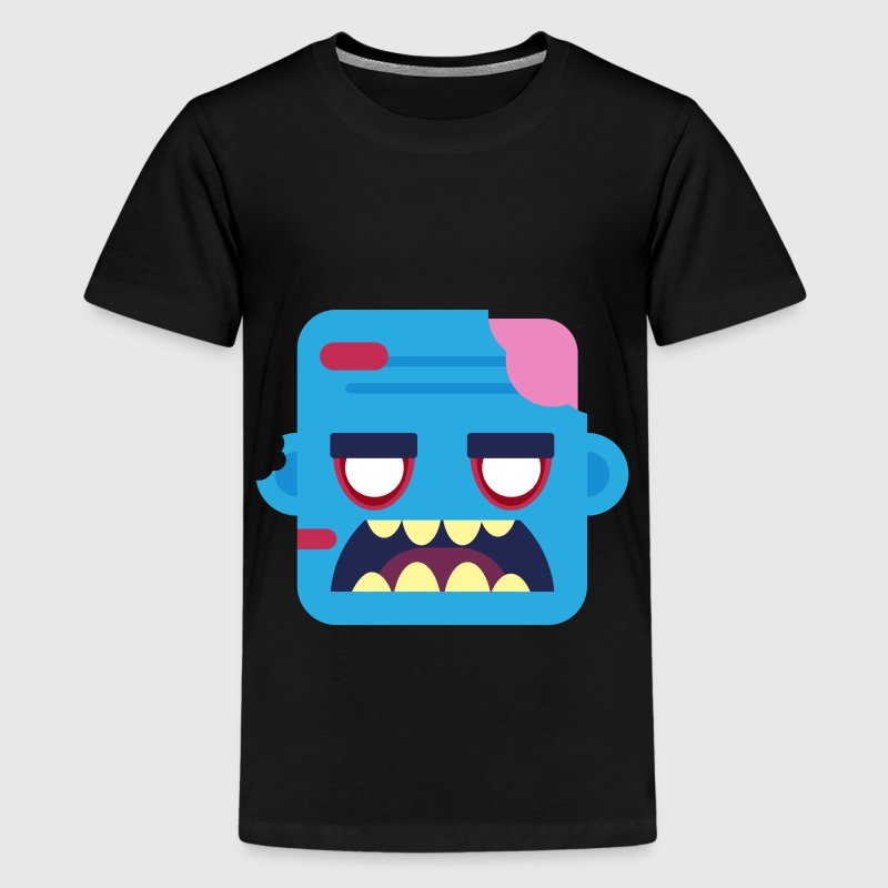Mini Monsters - Zombob T-shirts - Teenager premium T-shirt