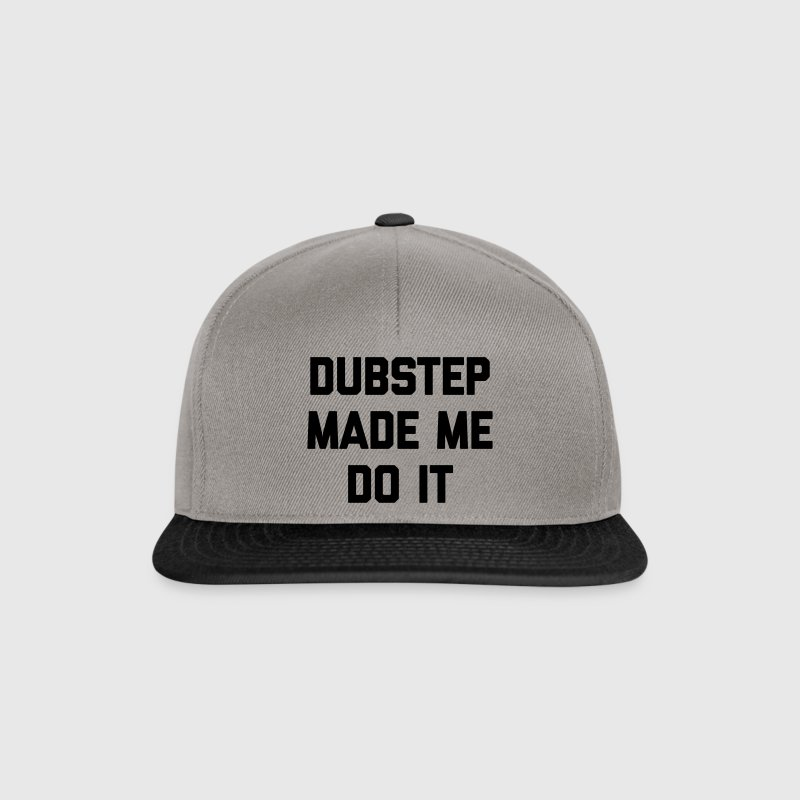 Dubstep Do It Music Quote Casquettes et bonnets - Casquette snapback