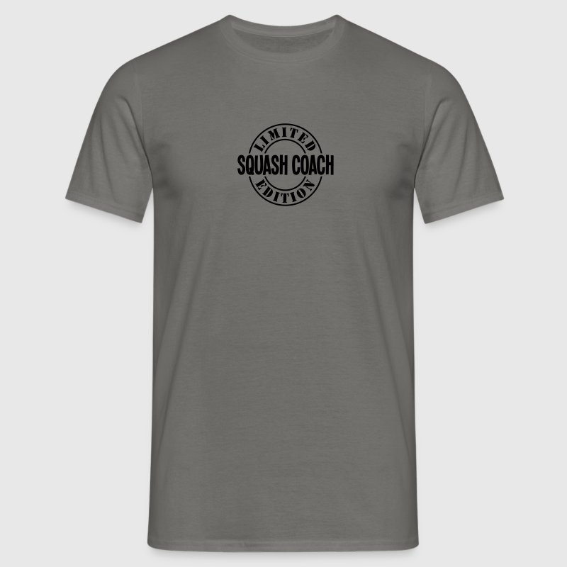 squash coach limited edition stamp - Men's T-Shirt