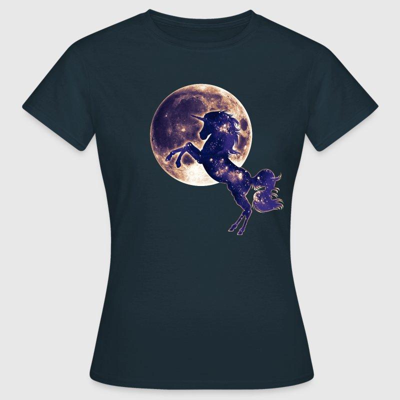 Tee shirt magique licorne pleine lune magie space - Code promo berceau magique frais port ...