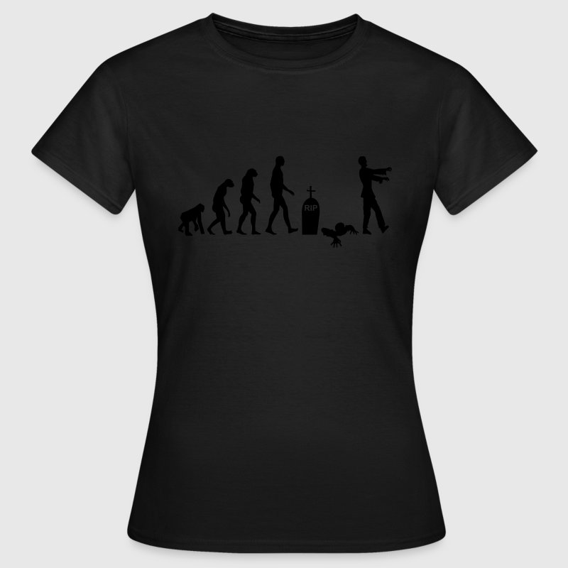 zombie evolution  - Frauen T-Shirt
