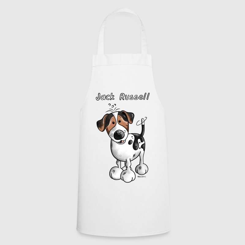 Happy Jack Russell  Aprons - Cooking Apron