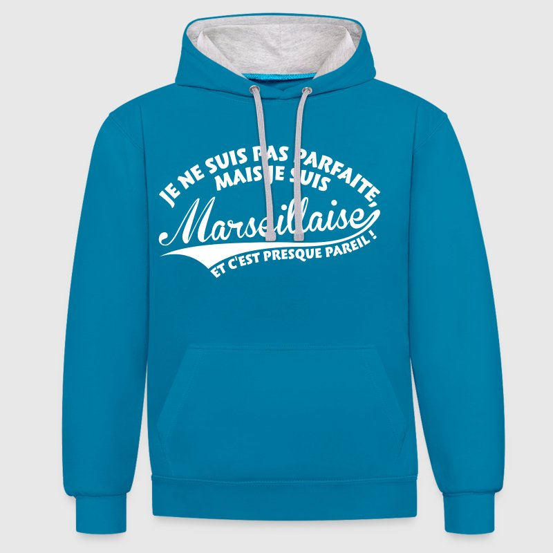 Parfaite Marseillaise Sweat-shirts - Sweat-shirt contraste