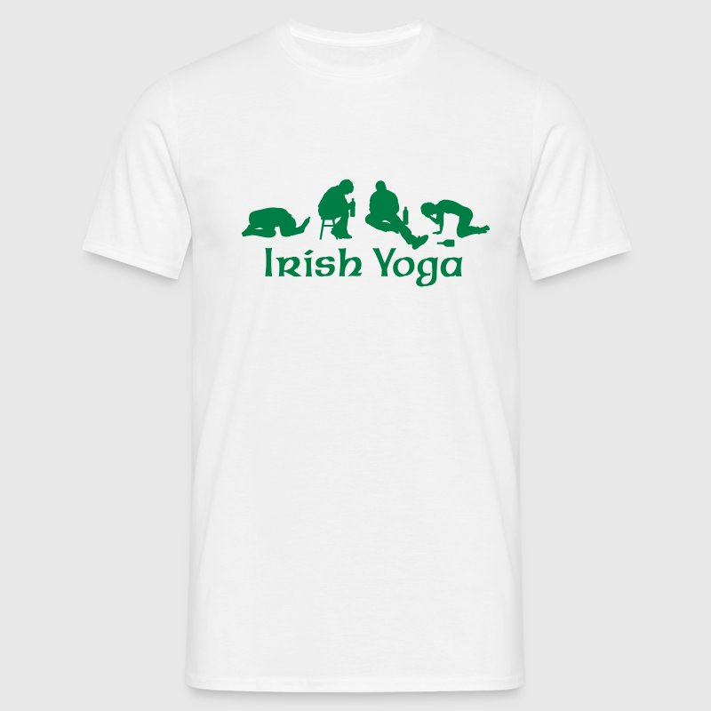 Irish Yoga T-Shirts - Männer T-Shirt