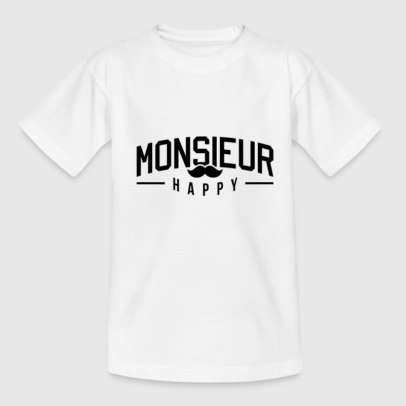Monsieur-Happy Tee shirts - T-shirt Ado