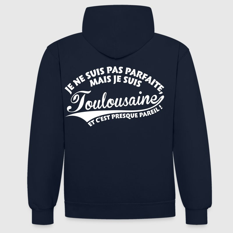 Parfaite Toulousaine Sweat-shirts - Sweat-shirt contraste
