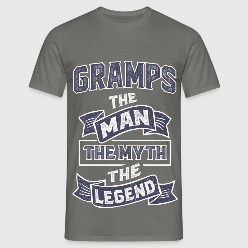 Gramps The Myth T-shirt Gift! - Men's T-Shirt