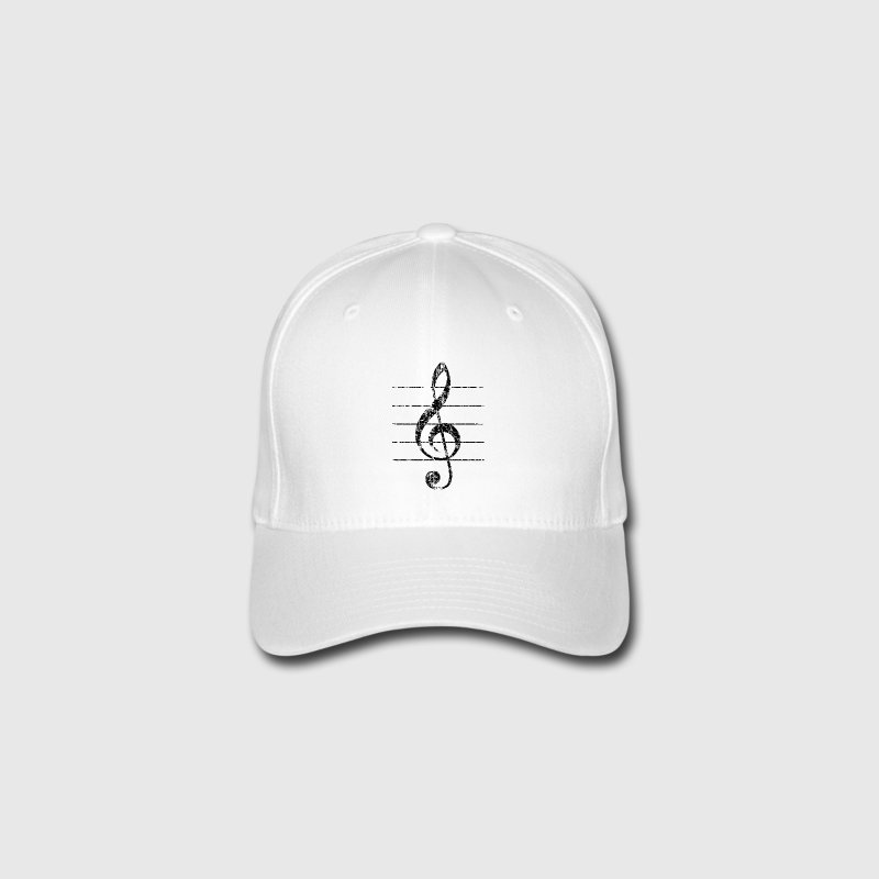 Violin key, musical key Caps & Hats - Flexfit Baseball Cap