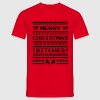 Merry Christmas Bitches Sweater T-Shirts - Men's T-Shirt