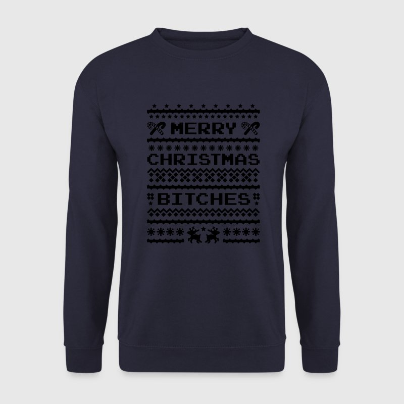 Merry Christmas Bitches Sweater Pullover & Hoodies - Männer Pullover