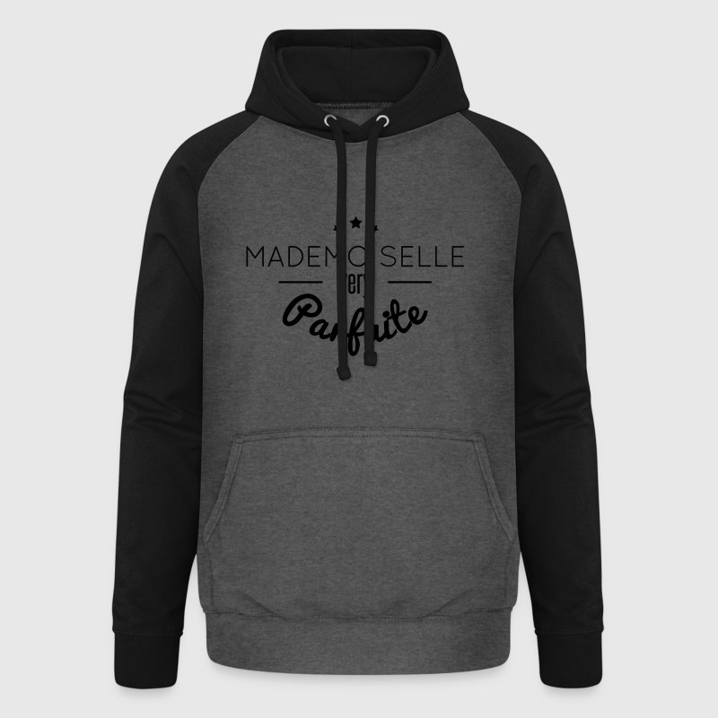 mademoiselle very parfait Sweat-shirts - Sweat-shirt baseball unisexe