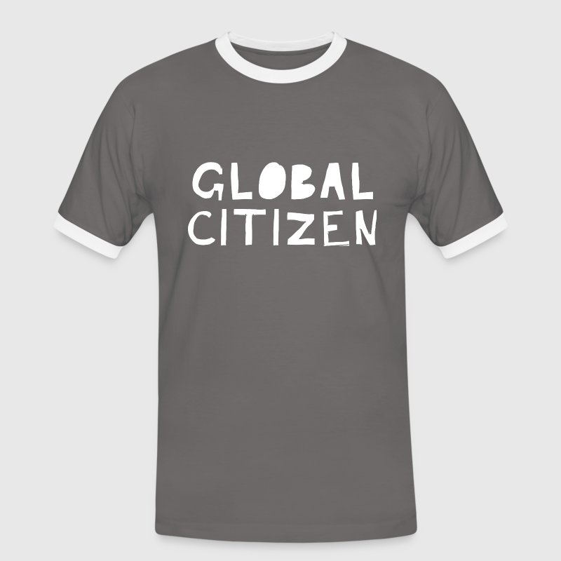 Global Citizen T-Shirts - Männer Kontrast-T-Shirt